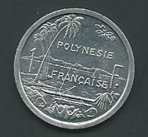 Polynésie Française/ Tahiti - Pièce De 1 F CFP - 1984 - Laupi 11014 - French Polynesia
