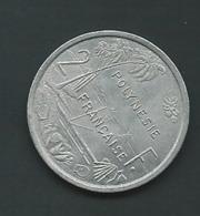 POLYNESIE FRANCAISE - 2 FRANCS 1977 - Laupi 11015 - French Polynesia