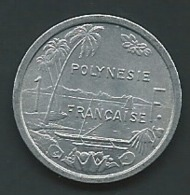 Polynésie Française: 1 Franc 1977 - Laupi 11110 - French Polynesia