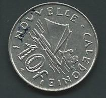 Monnaie, Nouvelle-Calédonie, 10 Francs, 1973 - Laupi 11109 - Nieuw-Caledonië