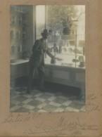Publicité Du Chocolat Menier . Pâtisserie Billot à Pougues-les-Eaux . Georges Gaston Menier ? (voir Signature). 1910 . - Métiers