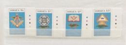 Jamaica 1992 250th Grand Master Freemasonary Set MNH - Jamaica (1962-...)