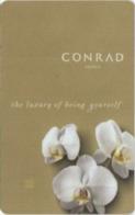 COREA DEL SUD   KEY HOTEL  Conrad Seoul - Cartes D'hotel