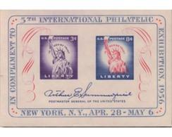 Ref. 161648 * MNH * - UNITED STATES. 1956. 5 EXPOSICION FILATELICA INTERNACIONAL DE NUEVA YORK - United States