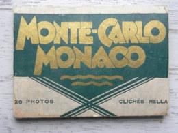 Pochette De 19 Photos -  MONTE-CARLO MONACO - Clichés Rella - Photos