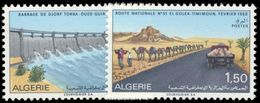 Algeria 1969 Saharan Public Works Unmounted Mint. - Algeria (1962-...)