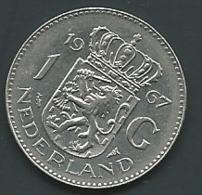 1 Gulden PAYS-BAS 1967  Laupi 11214 - [ 3] 1815-… : Kingdom Of The Netherlands