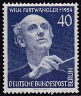 Berlin, 1955, 128, MNH **.   Wilhelm Furtwängler - Unused Stamps