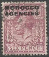 Morocco Agencies (British Currency). 1925-36 KGV, 6d Used SG 60b - Oficinas En  Marruecos / Tanger : (...-1958
