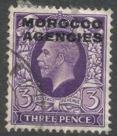 Morocco Agencies (British Currency). 1935-37 KGV, 3d Used SG 70 - Oficinas En  Marruecos / Tanger : (...-1958