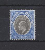 SOUTHERN NIGERIA.....KING EDWARD. VII.(1901-10).......SG24.....DEEP SHADE.......MH....... - Nigeria (...-1960)