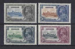 """GIBRALTAR...KING GEORGE V.(1910-36)...."""" OMNIBUS """".....SILVER JUBILEE....SET OF 4....MH.. - Gibraltar"""