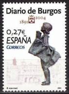España. Spain. 2004. Diarios Centenarios: Diario De Burgos - 2001-10 Nuevos & Fijasellos
