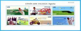 España. Spain. 2004. Exposicicion Mundial De Filatelia. Valencia. Los Deportes - 2001-10 Nuevos & Fijasellos
