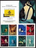 España. Spain. 2004. Ceramica. Carnet. Stamp Booklet - 1931-Tegenwoordig: 2de Rep. - ...Juan Carlos I