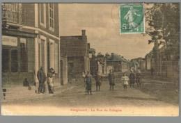 CPA 02 - Hargicourt - La Rue De Cologne - Ohne Zuordnung