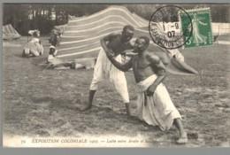 CPA 94 - Nogent Sur Marne - Exposition Coloniale 1907 - Lutte Entre Arabe Et Soudanais - Nogent Sur Marne