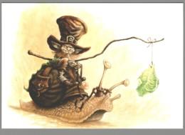 CPM - Le Grand Livre Des Korrigans - L'Epopée De La Gastéropostale - Illustration Pascal Moguérou - Künstlerkarten