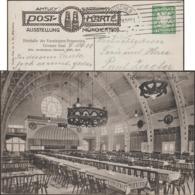 Bavière 1908. Entier Postal TSC. Exposition De Munich, Grande Salle De La Halle à Bière, Association Des Brasseries - Biere