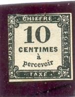 1859 FRANCE Y & T N° 2 ( X )  Neuf Sans Gomme - Taxes
