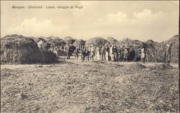 1912-Bengasi (dintorni) Uadai Villaggio Di Negri, Viaggiata, Annullo Posta Militare Bengasi - Marcophilia