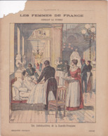 """Ce Ci N Est Pas Un Protège Cahier Mais Une Couverture De Cahier D'écolier (18x22) 4 Pages """"Ambulancières"""" - Book Covers"""