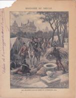 """Ce Ci N Est Pas Un Protège Cahier Mais Une Couverture De Cahier D'écolier (18x22) 4 Pages """"Histoire Du Siècle"""" - Book Covers"""