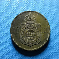 Brazil 10 Reis 1869 - Brasil