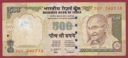 Inde 500 Rupees 2010 Dans L 'état - Indien
