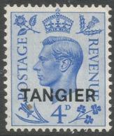 Morocco Agencies (Tangier). 1950-51 KGVI. 4d MH SG 285 - Oficinas En  Marruecos / Tanger : (...-1958