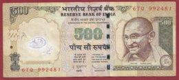 Inde 500 Rupees 2011 Dans L 'état - Indien