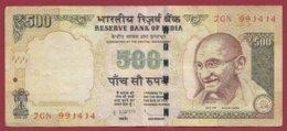 Inde 500 Rupees 2013 Dans L 'état - Indien