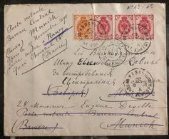 1898 Kazan Russia Cover To Munich Germany Redirected To Nancy France - Unclassified