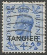 Morocco Agencies (Tangier). 1950-51 KGVI. 4d Used SG 285 - Oficinas En  Marruecos / Tanger : (...-1958