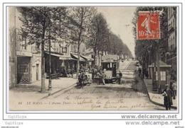 LE MANS - Avenue Thiers (tram Beau Plan) - Le Mans
