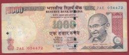 Inde 1000 Rupees 2009 Dans L 'état - Indien