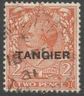 Morocco Agencies (Tangier). 1927 KGV. 2d Used SG 234 - Oficinas En  Marruecos / Tanger : (...-1958
