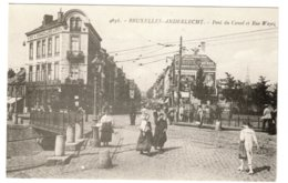 ANDERLECHT - Pont Du Canal Et Rue Wayez - Anderlecht