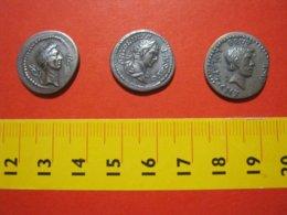 MED.1 ITALIA FAC SIMILE IMITAZIONI NOT ORIGINAL COPY 3 COPIE MONETE ROMANE 1970 SEE FOTO GADGET - Fausses Monnaies