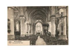 Waereghem   Binnenzicht Der Kerk. - Waregem