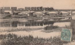 BLAINVILLE-SUR-L'EAU -54- Le Pont De Chemin De Fer. (Pont De La Ligne 16 à Damelevieres.) - Frankrijk