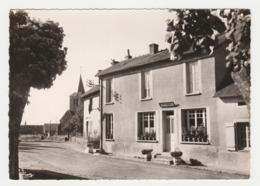 58 Poil Vers St Honoré Les Bains Entre Luzy Et Autun N°581045 Vue Du Bourg En 1963 Café Tabac - Saint-Honoré-les-Bains