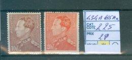 434A+435 Aa COB 225.00€ - Belgium