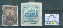 436-437 X COB 90.00€ - Belgium