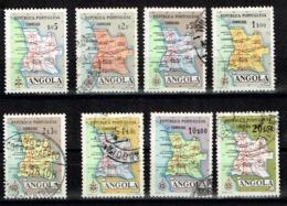 Angola Af. 379-386 1955 USED - Angola