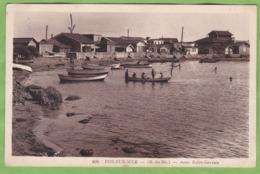 CPA FOS Sur Mer Anse Saint Gervais 13 Bouches Du Rhone Animation Pécheurs - Other Municipalities