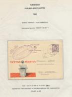 305/30 --  Entier Publibel 819 TURNHOUT 1949 - Cachet Privé Peperkoek En Suikerbakkerij Van Deun-Poppeliers - Postwaardestukken