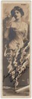 ATTORI - ATTRICI - L. LOTY (MANON LOTY) (LOTI) - REUTLINGER - Vedi Retro - Formato Tipo Segna Libro - Artisti