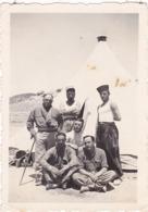7ém R. T. A. - Groupe De Soldats En Pose Au Camp Gabis :  - 1938 -  ( Format 9cm X 6cm ) - War, Military