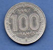 Cameroun  -  100 Franc 1967  -  état  SUP   -  Km # 14 - Cameroon